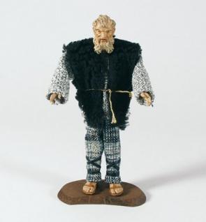 Krippenfigur Hirte alt mit Bart Heimat-Krippe 20 cm Krippen Figur Weihnachten