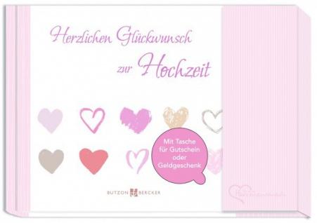 Geldgeschenkbuch Herzlichen Glückwunsch zur Hochzeit Geschenkbücher