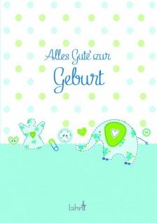 Geschenkbuch Alles Gute zur Geburt, Junge Christliche Bücher