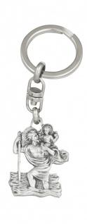 Christophorus Schlüsselanhänger 8, 5 cm Christopherus Anhänger