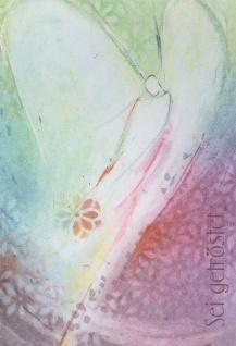 Trauerkarte Sei getröstet (6 Stck) Psalm Beileidskarten Kondolenzkarten