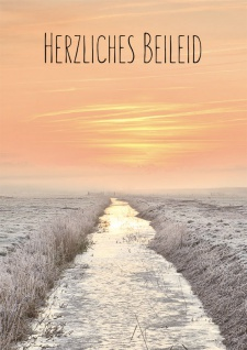 Trauerkarte Herzliches Beileid Psalm 121 (6 Stck) Beileidskarten Kondolenzkarten