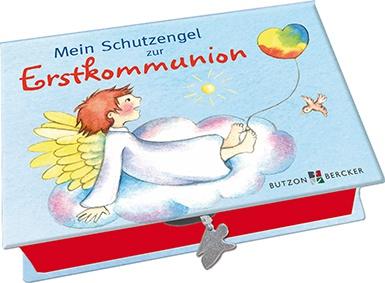 Mein Schutzengel zur Erstkommunion Box mit 48 Karten Schutzengelgebete