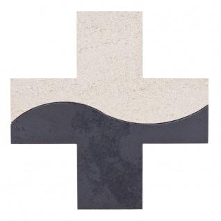 Wandkreuz Weg des Lebens Schiefer Kalkstein Kreuz 15 cm Kruzifix Christlich
