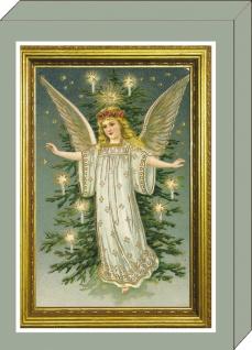 Grußkarten-Geschenkbox Gute alte Weihnachtszeit (1 St) 4 Motive á 2 Karten