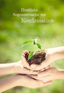 Konfirmationskarte Herzliche Segenswünsche zur Konfirmation (6 Stck) Bibel Mose