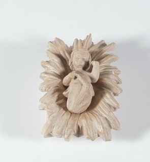 Barren Filser-Krippe Holz geschnitzt mittel gebeizt Krippen Figur Weihnachten