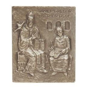 Namenstag Gregor Bronze 13 x 10 cm Namenstag Geschenk