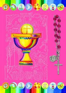 Kommunionkarte Armband Zur heiligen Kommunion (5 St) Glückwunschkarte Grußkarte