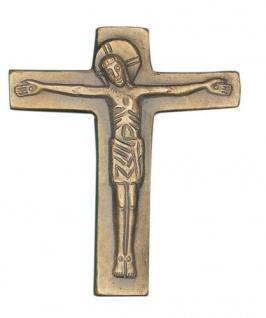Wandkreuz Bronzekreuz Corpus Kreuz 13 x 11 cm Körper Korpus Kruzifix dekorativ