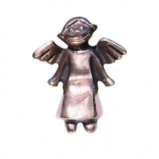 Schutzengel Engelchen sitzend Bronzefigur 6 cm Bronzeengel Engel Figur