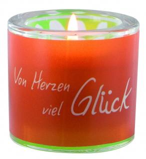 Glaswindlicht Von Herzen Teelicht Kerzenhalter Geschenkbox Glas für Windlicht