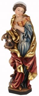 Heilige Katharina von Alexandria Holzfigur geschnitzt Südtirol Schutzpatronin