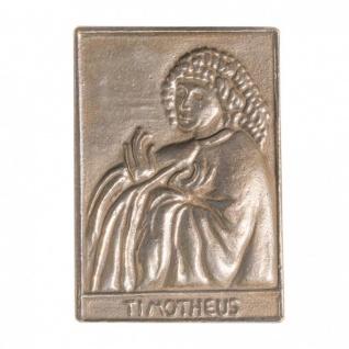 Namenstag Timotheus 8 x 6 cm Geschenk Bronzerelief Wandbild Schutzpatron