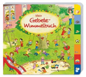 Bilderbuch mit Griffregister Mein Gebete-Wimmelbach Christliche Bücher