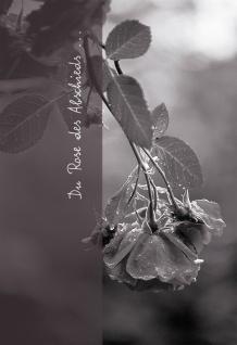 Trauerkarte Du Rose des Abschieds (6 St) Ruth Rau Rosen Grußkarte Kuvert