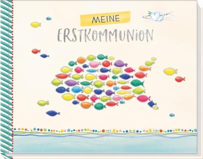 Album Meine Erstkommunion Foto- und Erinnerungsbuch Geschenk zur Kommunion