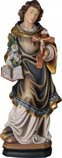 Heiliger Aloisius Gonzaga Holzfigur geschnitzt Südtirol Schutzpatron