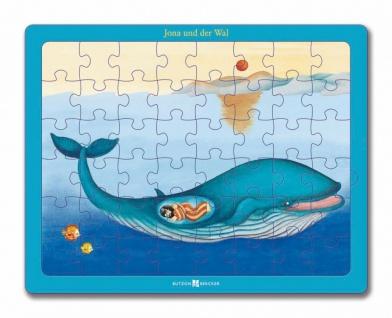 Puzzle Jona und der Wal, 48 Teile Christliche Bücher