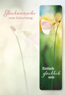 Geburtstagskarte Anselm Grün Metall-Lesezeichen (5 St) Glückwunschkarte - Vorschau