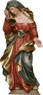 Adolorata Schmerzhafte Madonna Holzfigur geschnitzt Südtirol