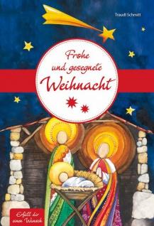 Geldgeschenkheft Frohe und gesegnete Weihnacht Christliche Bücher