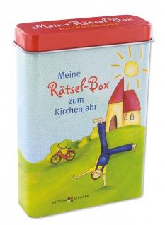 Meine Rätsel-Box zum Kirchenjahr Geschenk zur Kommunion Jungen Mädchen