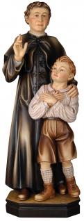 Heiliger Johannes Don Bosco Holzfigur geschnitzt Südtirol Schutzpatron