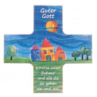 Kinder Haussegen Guter Gott Buchenholz 12 cm