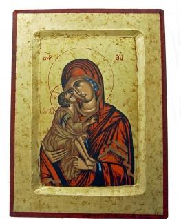 Ikone Madonna 17 x 14 cm Griechenland