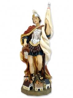 Heiliger Florian mit Haus handbemalt 50 cm Schutzpatron