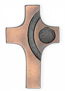 Schmuckkreuz aus Bronze 15, 5 x 10 cm Wandkreuz Christliches Kreuz