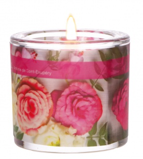 Glaswindlicht Jeder Mensch Teelicht Kerzenhalter Geschenkbox Glas für Windlicht
