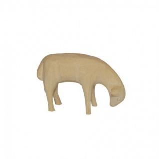 Schaf stehend Bauer-Krippe 17 cm handgeschnitzt Krippen Figur Weihnachten