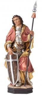 Heiliger Mauritius mit dunkler Haut Holzfigur geschnitzt Südtirol Schutzpatron
