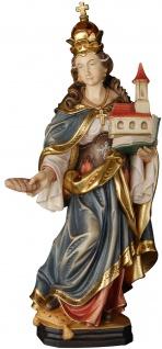 Heilige Mathilde Holzfigur geschnitzt Südtirol Königin Klostergründerin