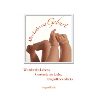 Geburtskarte Wunder des Lebens (3 Stck) Sinnspruch Glückwunschkarte Geburt