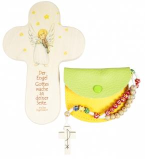 Rosenkranz Geschenkset Engel zur Erstkommunion Kinderkreuz Kommunion
