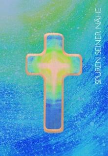 Klappkarte Holzkreuz Erstkommunion Glückwunschkarte Kommunion Grußkarte