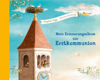 Mein Erinnerungsalbum zur Erstkommunion mit Karte für Geld-Geschenk