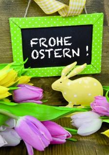 Osterkarte Frohe Ostern! (6 Stck) Grußkarte Glückwunschkarte Kuvert