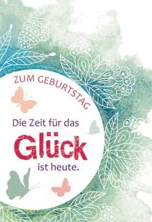 Geburtstagskarte mit Glasröhrchen Zum Geburtstag (3 Stck) Glückwunschkarte - Vorschau