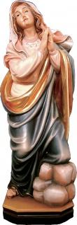 Heilige Ruth von Jordanien Holzfigur geschnitzt Südtirol Ahnfrau