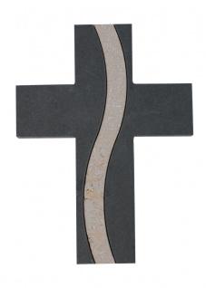 Wandkreuz Schiefer Kreuz Jura Marmor 15 cm Schmuckkreuz Kruzifix Christlich