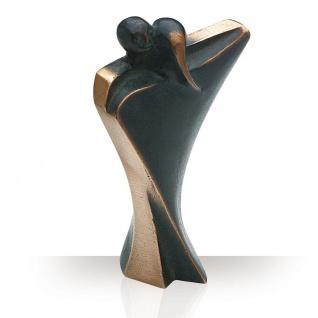 Bronzefiguren Tanzpaar 14 cm Skulptur Kött-Gärtner Liebespaar Figur Regalfigur