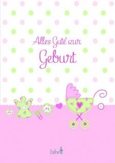 Geschenkbuch Alles Gute zur Geburt Mädchen