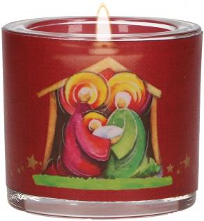 Windlicht Weihnachten Heidi Rose Teelicht Geschenkverpackung Krippe