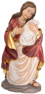 Heilige Magdalena kniend Holzfigur geschnitzt Südtirol Schutzpatronin Jüngerin