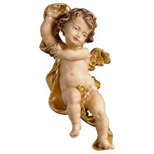 Putte Engelfigur Holzfigur geschnitzt Südtirol Puttenfigur