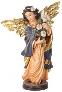 Lilienengel Holzfigur geschnitzt Südtirol
